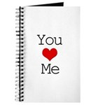 You Heart Me Journal
