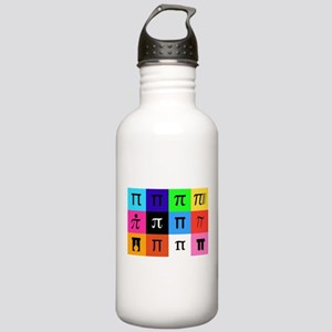 colorblock happy pi da Stainless Water Bottle 1.0L