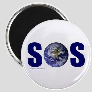 SOS EARTH Magnet