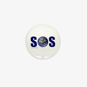 SOS EARTH Mini Button