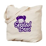 Spoiled Brat - Purple Tote Bag