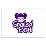 Spoiled Brat - Purple Large Poster