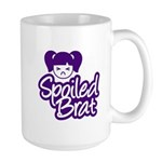 Spoiled Brat - Purple Large Mug