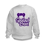 Spoiled Brat - Purple Kids Sweatshirt