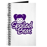 Spoiled Brat - Purple Journal