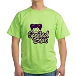 Spoiled Brat - Purple Green T-Shirt