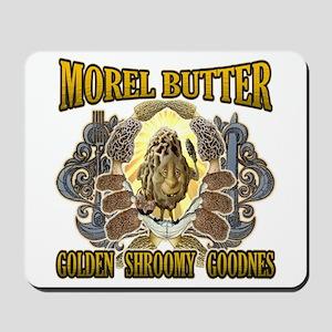 Morel mushroom butter gifts Mousepad
