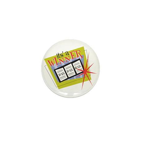 It's a Winner Slots Mini Button (10 pack)