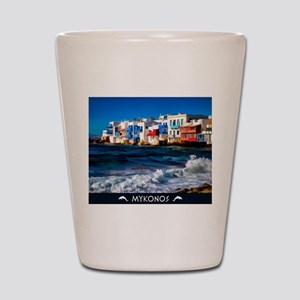 Visit Mykonos Shot Glass