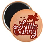 Little Bunny - Red Magnet