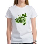Little Bunny - Green Women's T-Shirt