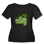 Little Bunny - Green Women's Plus Size Scoop Neck