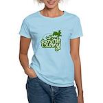 Little Bunny - Green Women's Light T-Shirt