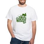Little Bunny - Green White T-Shirt