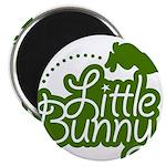Little Bunny - Green Magnet