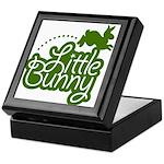 Little Bunny - Green Keepsake Box