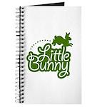 Little Bunny - Green Journal