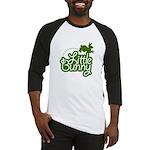 Little Bunny - Green Baseball Jersey