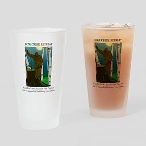 Sasquatch Huckleberry Garden Drinking Glass