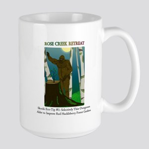 Sasquatch Huckleberry Garden Mugs