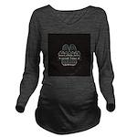 Great Dane Long Sleeve Maternity T-Shirt