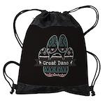 Great Dane Drawstring Bag