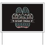 Great Dane Yard Sign