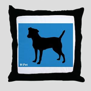 Patterdale iPet Throw Pillow