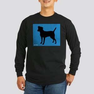 Patterdale iPet Long Sleeve Dark T-Shirt