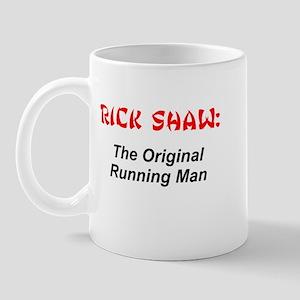Rick Shaw Running Man Mug