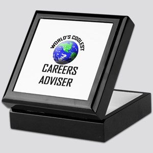 World's Coolest CAREERS ADVISER Keepsake Box