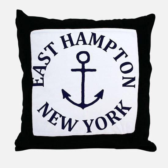Cute Hamptons Throw Pillow