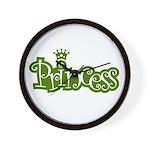 Princess - Green Wall Clock