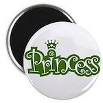 Princess - Green Magnet