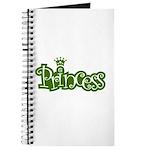 Princess - Green Journal