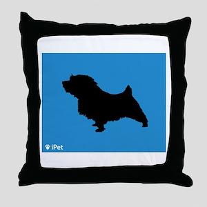 Norfolk iPet Throw Pillow