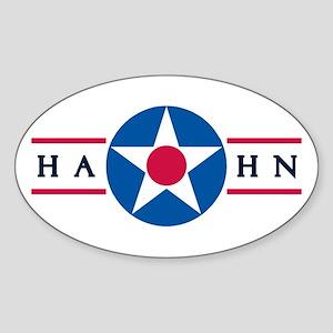 Hahn Air Base Oval Sticker