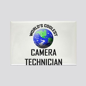 World's Coolest CAMERA TECHNICIAN Rectangle Magnet