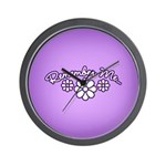 Remember Me - Purple Wall Clock