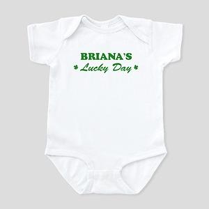 BRIANA - lucky day Infant Bodysuit