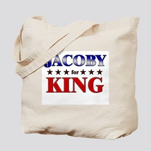 JACOBY for king Tote Bag
