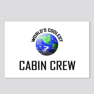 World's Coolest CABIN CREW Postcards (Package of 8