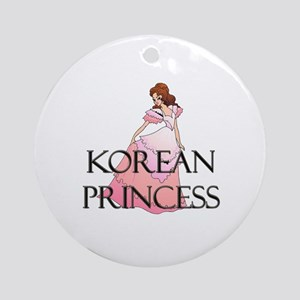 Korean Princess Ornament (Round)