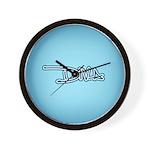 Diva - Blue Wall Clock