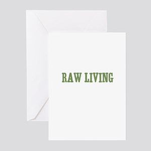 Raw Living Greeting Cards (Pk of 10)