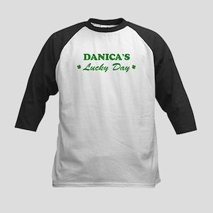 DANICA - lucky day Kids Baseball Jersey