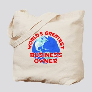 World's Greatest Busin.. (F) Tote Bag