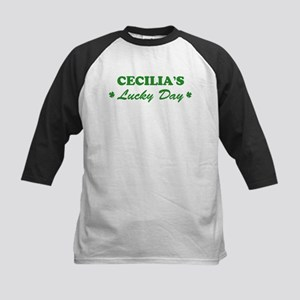 CECILIA - lucky day Kids Baseball Jersey