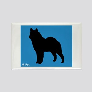 Lapphund iPet Rectangle Magnet