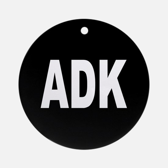ADK Ornament (Round)